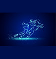 pair figure skating sport vector image vector image