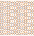 seamless pattern with wavy stripes vector image vector image