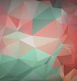 Abstract colorful triangle background for design vector image vector image