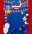 fourth of july 4th of july holiday bannercard vector image