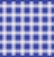 navy blue gingham pattern geometric background vector image vector image
