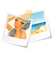 photo summertime vector image vector image