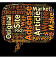Who Else Wants To Make Money With Adsense text vector image vector image