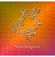 Hand-drawn ornate abstract wave colorful vector image