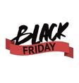 Black Friday modern design badge sales vector image