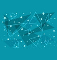 constellations star background vector image
