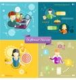 Customer service concept vector image vector image