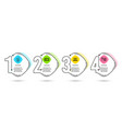 inspiration e-mail and education icons quick vector image