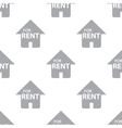 New For rent seamless pattern vector image vector image
