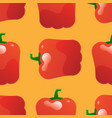 pepper seamless pattern vector image vector image
