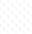 Stork pattern cartoon style vector image vector image