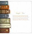 Suitcases vector | Price: 1 Credit (USD $1)
