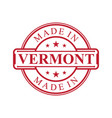 vermont vector image vector image