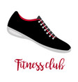 shoes with text fitness club