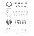 loading symbols vector image