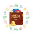 money finance concept vector image