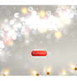 Romantic Blurred Lights Background vector image vector image