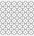Seamless black and white abstract decorative vector image vector image