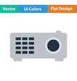 Video projector icon vector image vector image