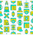 app development seamless pattern vector image vector image