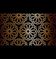 black and gold arabian pattern background