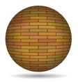 Brick Circle vector image