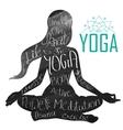 International Yoga Day vector image vector image