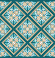 seamless colorful arabic geometric pattern vector image