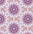 seamless round pattern vector image vector image