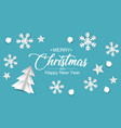 top view christmas decorations vector image vector image