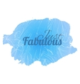 Fabulous blue vector image vector image