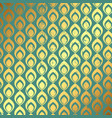 grunge gold and teal pattern background vector image vector image