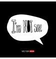 Modern style speech bubbles for labels stickers vector image