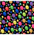 seamless pattern of colorful drops vector image vector image