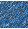 Seamless pattern with hand drawn abstract waves vector image vector image