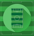 Soccer game field vector image vector image