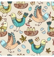 birds and chicks vector image vector image