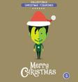 christmas characteravatar vector image vector image