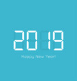 creative happy new vector image vector image
