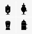 drink dispensers vector image vector image