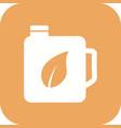 eco oil icon vector image vector image