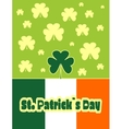St Patricks Day greeting vector image vector image