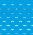 tattoo emblem pattern seamless blue vector image
