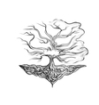 tattoo tree vector image