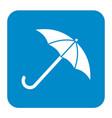 umbrella sketch icon vector image vector image