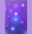 Abstract polygonal background with sparkles for
