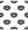 Dainty floral damask style fabric pattern vector image