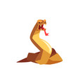 fantasy magical beast creature character vector image