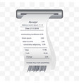 moisturizing conditioner receipt printed vector image vector image