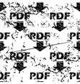 PDF download pattern grunge monochrome vector image vector image